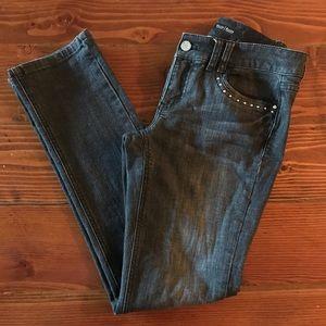 WHBM black jeans size 0short